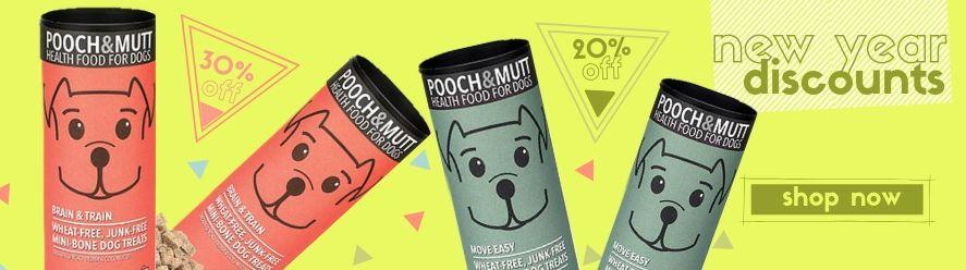 pooch and mutt, treats, discounts