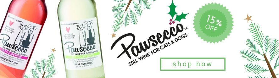 pawseccoe, christmas pet drinks, christmas pet treats, pet treat, cat treats