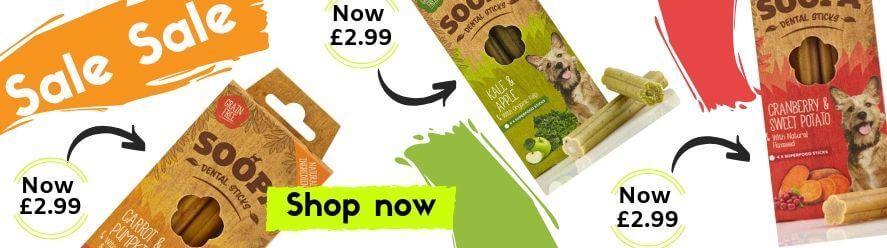 soopa, healthy treats, dog treats