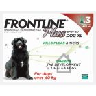Frontline Plus Spot-on for Extra Large Dogs (pack of 3)