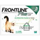Frontline Plus Spot-on for Cats & Ferrets (pack of 3)
