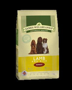 James Wellbeloved Adult Dog Lamb & Rice 7.5kg
