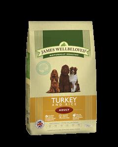 James Wellbeloved Adult Dog Turkey & Rice 2kg