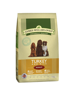 James Wellbeloved Adult Dog Turkey & Rice 7.5kg