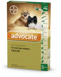 Advocate Small Dog - Dogtor.vet