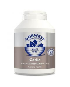 Dorwest Garlic Tablets for Cats & Dogs (pack of 500)