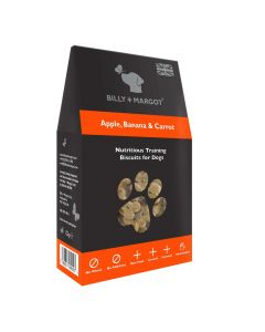 Billy + Margot Apple, Banana & Carrot Training Biscuits 125g