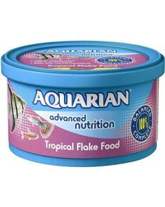 Aquarian Tropical Fish Flakes 25g