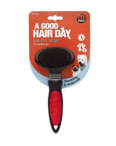 Mikki Ball Pin Slicker for Sensitive Skin - Medium