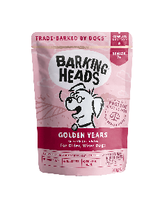 Barking Heads Golden Years Pouch 10 x 300g