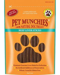 Pet Munchies Beef Liver Stick Dog Treats 90g