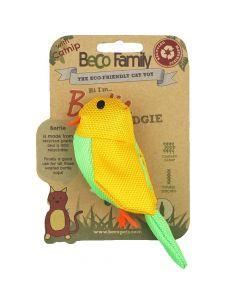 Beco Plush Bertie the Budgie Catnip Toy