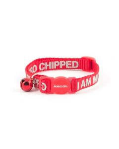 "Ancol Alert Cat Collar - ""I am Microchipped"""
