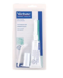 Virbac Tooth Care Starter Kit for Cats - Fish