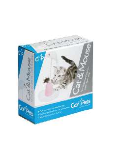 Gor Pets Cat & Mouse Interactive Toy