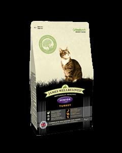 James Wellbeloved Senior Cat Turkey & Rice 4kg