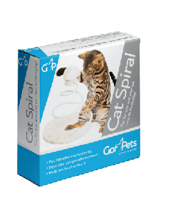 Gor Pets Cat Spiral Interactive Toy