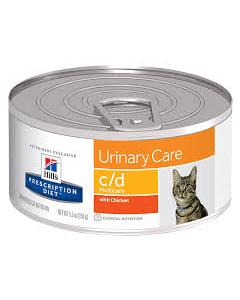 Hill's Prescription Diet c/d - Multicare Feline Minced with Chicken Wet