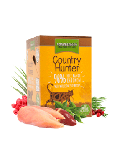 Natures Menu Cat Country Hunter Free-Range Chicken Pouch 6 x 85g