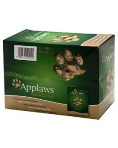 Applaws Adult Cat Chicken & Asparagus Pouch 12 x 70g