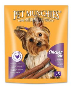 Pet Munchies Chicken Stix Dog Treats 50g