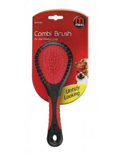 Mikki Combi Brush for Short/Medium Coats - Large