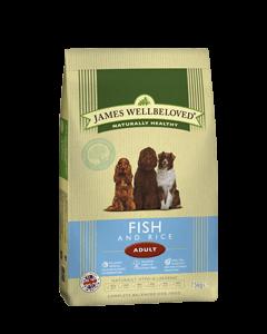 James Wellbeloved Adult Dog Fish & Rice 15kg