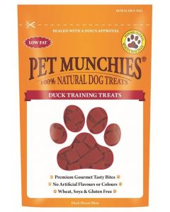 Pet Munchies Duck Dog Training Treats 50g