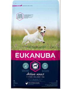 Eukanuba Chien Active Adult Petite Race 3 kg- La Compagnie des Animaux