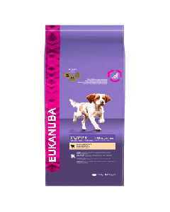 Eukanuba Puppy 1-12 Months Rich in Lamb and Rice Dry Dog Food 12kg