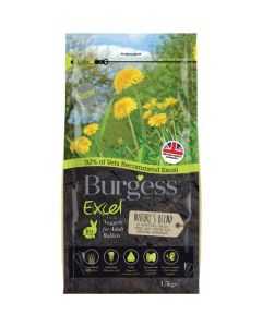 Burgess Excel Nature's Blend Rabbit Nuggets 1.5kg