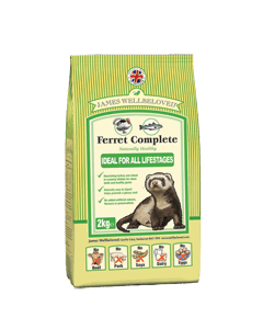James Wellbeloved Ferret Complete 10kg