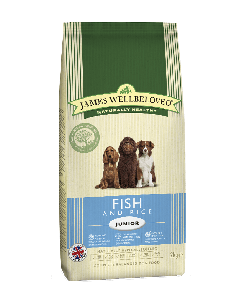 James Wellbeloved Junior Dog Fish & Rice 2kg