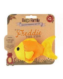 Beco Plush Freddie the Fish Catnip Toy