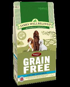James Wellbeloved Adult Dog Grain Free Fish & Vegetables 10kg