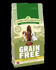 James Wellbeloved Adult Dog Grain Free Lamb & Vegetables 10kg