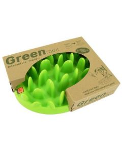 Green Slow Dog Feeder - Mini