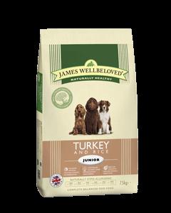 James Wellbeloved Junior Dog Turkey & Rice 2kg