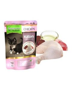 Natures Menu Kitten Chicken Pouch 12 x 100g
