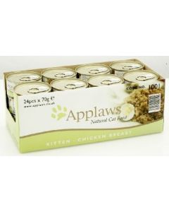 Applaws Kitten Chicken Tin 24 x 70g