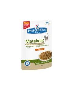 Hill's Prescription Diet Metabolic Feline Pouches