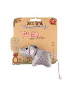 Beco Plush Millie the Mouse Catnip Toy