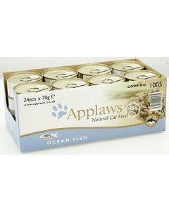 Applaws Adult Cat Ocean Fish Tin 24 x 70g