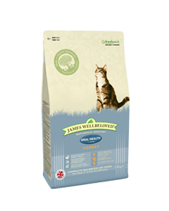 James Wellbeloved Adult Cat Oral Health Turkey & Rice