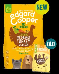 E&C Organic Turkey & Chicken Kibble - Dogtor.vet