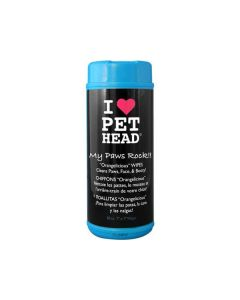 Pet Head Paw & Body Wipes (pack of 50)