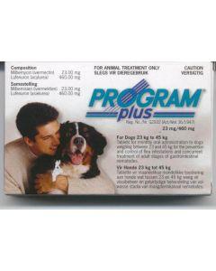 Program Plus Tablets for Large Dogs 23 - 45kg (pack of 6)