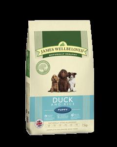 James Wellbeloved Puppy Duck & Rice