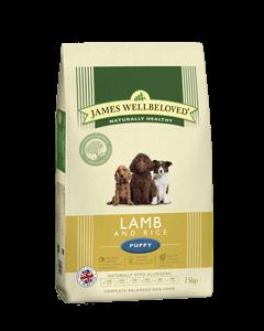 James Wellbeloved Puppy Lamb & Rice