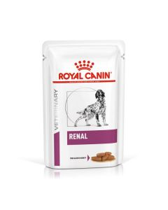 Royal Canin Canine Veterinary Diet Renal Pouch 12 x 100g